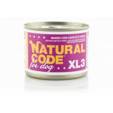 Natural Code for Dog XL3 185g