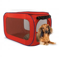 SportPet Designs Portable Dog Kennel Składana Buda Legowisko