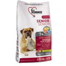 1st Choice Dog Less Active & Senior Sensitive Skin & Coat