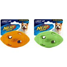 Nerf Dog Illuma-Action Light up Football piłka świecąca LED