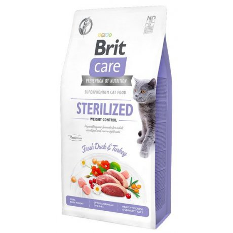 Brit Care Cat Grain Free Sterilized Weight Control