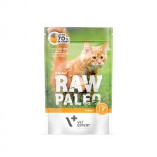 Vet Expert Raw Paleo Adult Turkey