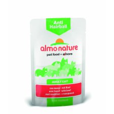 Almo Nature Anti-Hairball z wołowiną