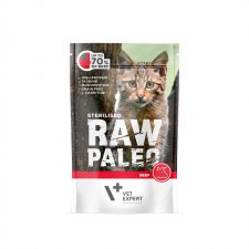 Vet Expert Raw Paleo Sterilised Beef