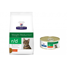Hill's Prescription Diet Feline r / d Weight Reduction karma odchudzająca