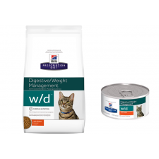 Hill's Prescription Diet Feline w / d Digestive / Weight Management