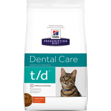 Hill's Prescription Diet Feline t / d Dental Care