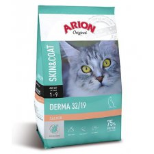 Arion Original Cat Derma Skin&Coat 32 / 19 z łososiem